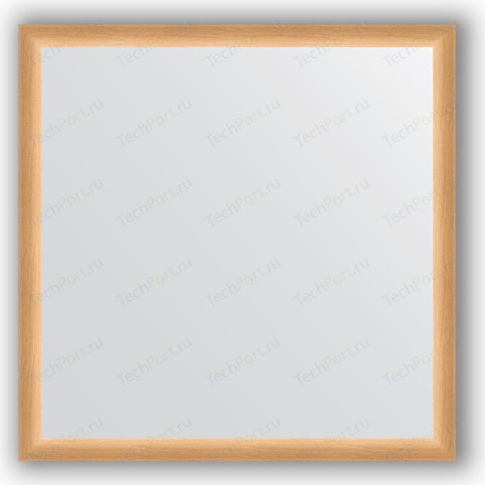 Зеркало в багетной раме Evoform Definite 70x70 см, бук 37 мм (BY 0662)