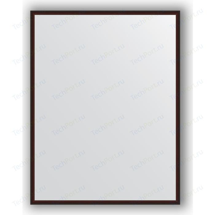 Фото - Зеркало в багетной раме поворотное Evoform Definite 68x88 см, махагон 22 мм (BY 0673) зеркало в багетной раме поворотное evoform definite 68x128 см сосна 22 мм by 0738