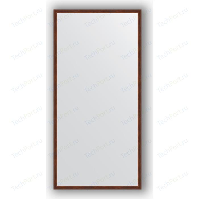 Зеркало в багетной раме поворотное Evoform Definite 48x98 см, орех 22 мм (BY 0689)