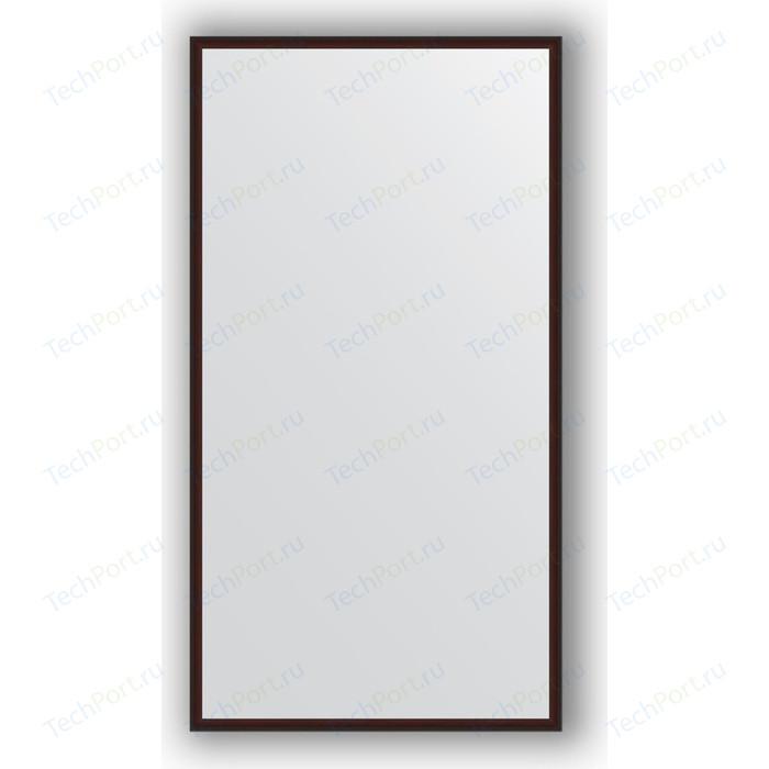 Зеркало в багетной раме поворотное Evoform Definite 58x108 см, махагон 22 мм (BY 0724)