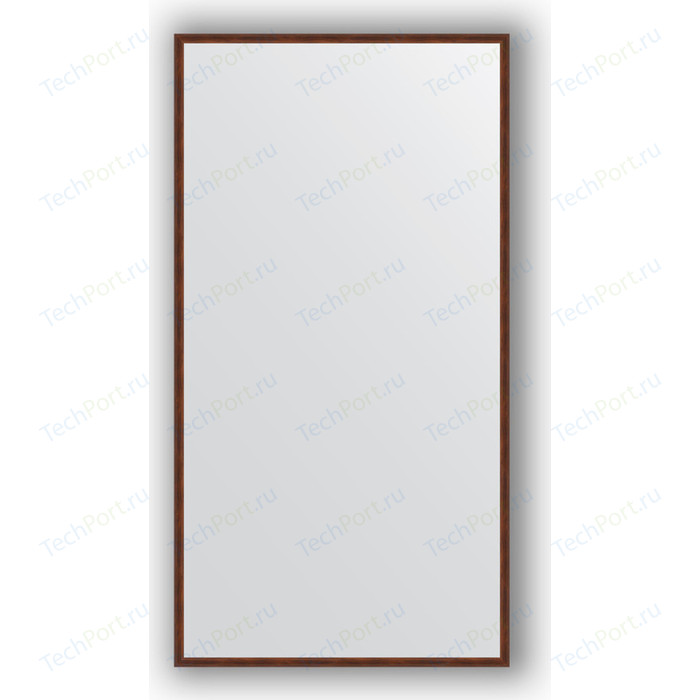 Фото - Зеркало в багетной раме поворотное Evoform Definite 68x128 см, орех 22 мм (BY 0740) зеркало в багетной раме поворотное evoform definite 68x128 см сосна 22 мм by 0738
