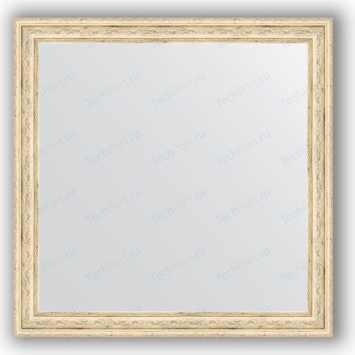 Зеркало в багетной раме Evoform Definite 63x63 см, слоновая кость 51 мм (BY 0780) зеркало в багетной раме evoform definite 73x73 см слоновая кость 51 мм by 1025