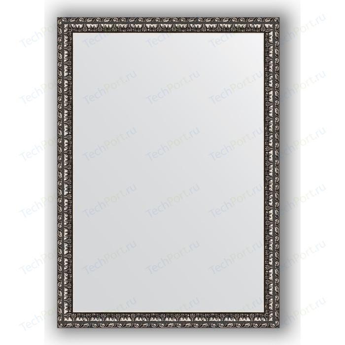 Зеркало в багетной раме поворотное Evoform Definite 50x70 см, черненое серебро 38 мм (BY 0788) цена 2017