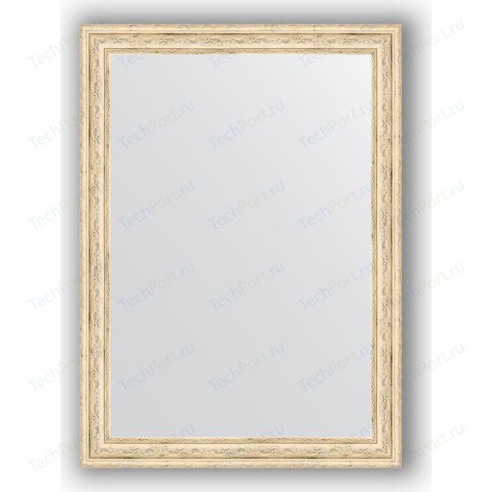 Зеркало в багетной раме поворотное Evoform Definite 53x73 см, слоновая кость 51 мм (BY 0795) зеркало в багетной раме evoform definite 73x73 см слоновая кость 51 мм by 1025