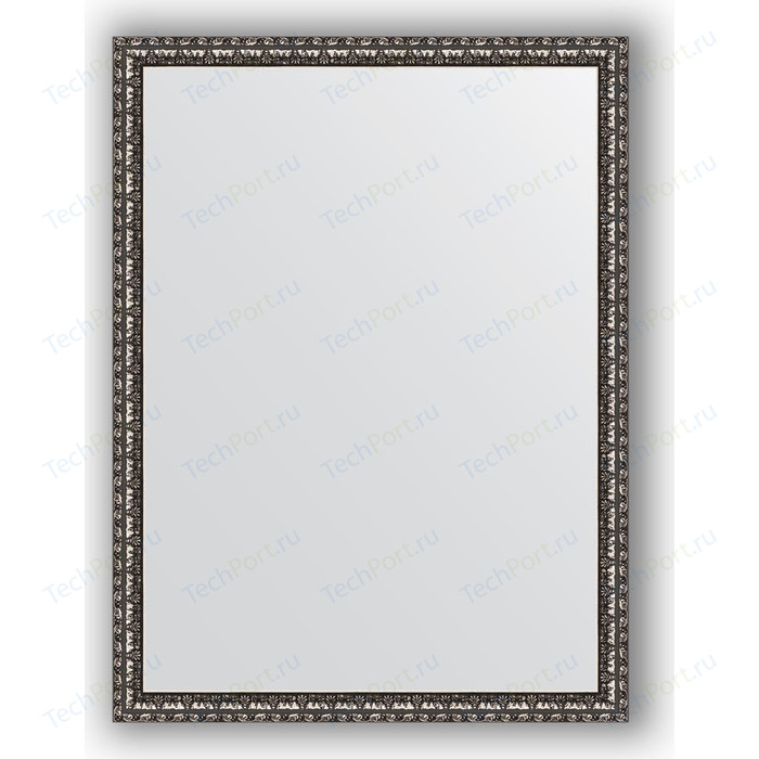 Зеркало в багетной раме поворотное Evoform Definite 60x80 см, черненое серебро 38 мм (BY 1003)