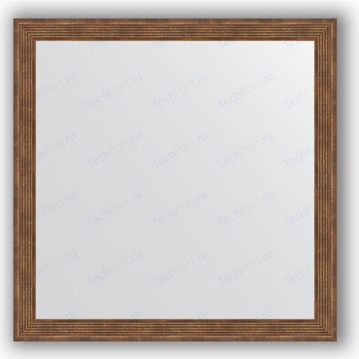 Зеркало в багетной раме Evoform Definite 73x73 см, сухой тростник 51 мм (BY 1024) зеркало в багетной раме evoform definite 73x73 см слоновая кость 51 мм by 1025