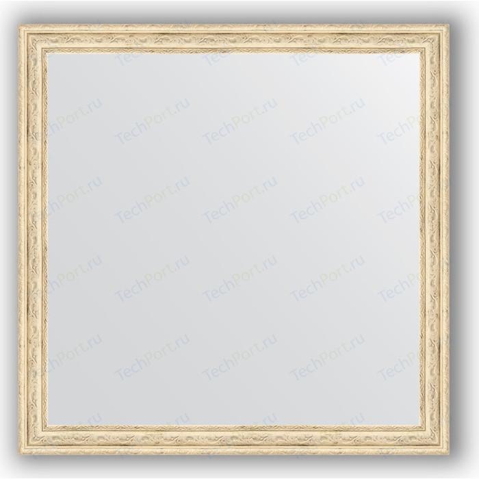 Зеркало в багетной раме Evoform Definite 73x73 см, слоновая кость 51 мм (BY 1025) зеркало в багетной раме evoform definite 73x73 см слоновая кость 51 мм by 1025