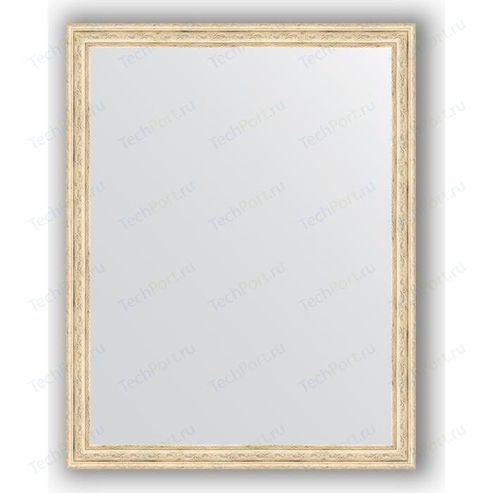Зеркало в багетной раме поворотное Evoform Definite 73x93 см, слоновая кость 51 мм (BY 1040) зеркало в багетной раме evoform definite 73x73 см слоновая кость 51 мм by 1025