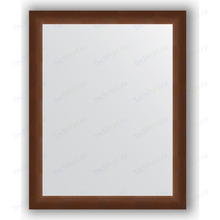 Зеркало в багетной раме поворотное Evoform Definite 76x96 см, орех 65 мм (BY 1044)