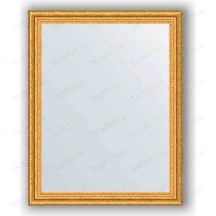 Зеркало в багетной раме поворотное Evoform Definite 76x96 см, состаренное золото 67 мм (BY 1046)