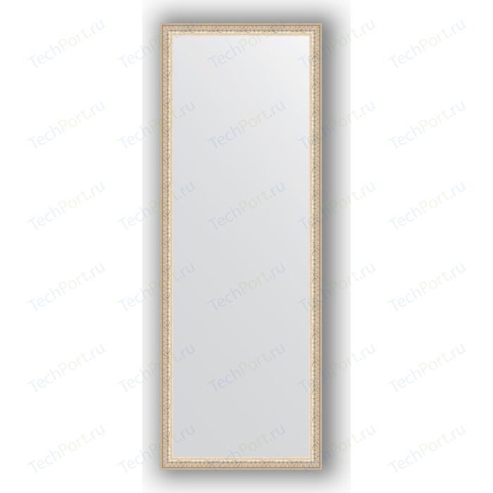 Зеркало в багетной раме поворотное Evoform Definite 51x141 см, мельхиор 41 мм (BY 1065) зеркало в багетной раме поворотное evoform definite 51x141 см волна алюминий 46 мм by 3102