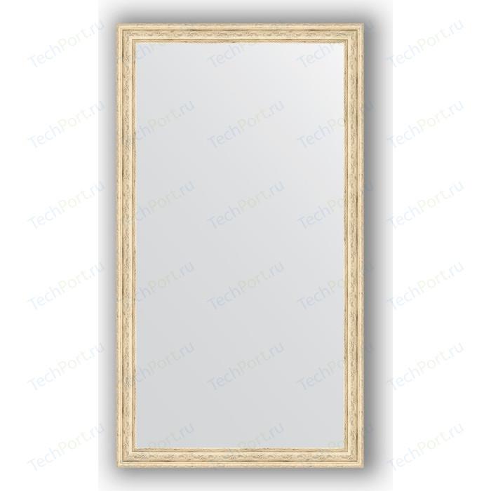 Зеркало в багетной раме поворотное Evoform Definite 63x113 см, слоновая кость 51 мм (BY 1085) зеркало в багетной раме evoform definite 73x73 см слоновая кость 51 мм by 1025