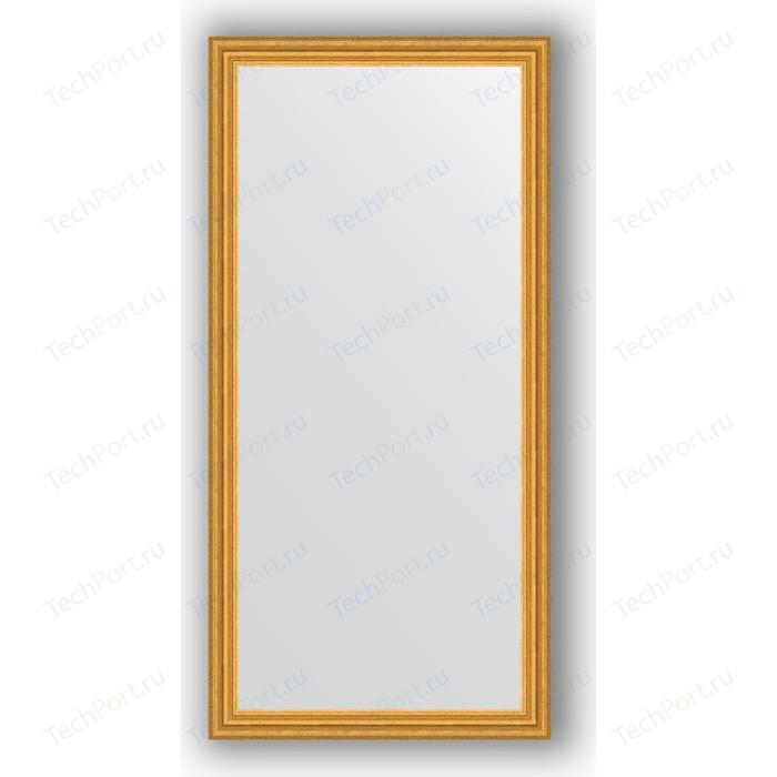 Зеркало в багетной раме поворотное Evoform Definite 76x156 см, состаренное золото 67 мм (BY 1121)