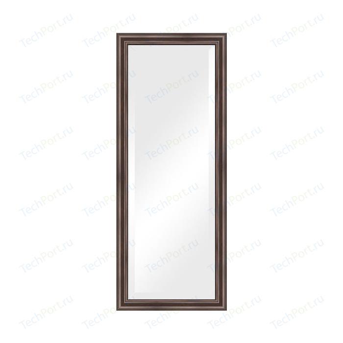 Зеркало с фацетом в багетной раме поворотное Evoform Exclusive 56x141 см, палисандр 62 мм (BY 1164)