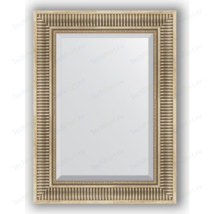 Фото - Зеркало с фацетом в багетной раме поворотное Evoform Exclusive 57x77 см, серебряный акведук 93 мм (BY 1228) зеркало с фацетом в багетной раме поворотное evoform exclusive 57x77 см бронзовый акведук 93 мм by 3388