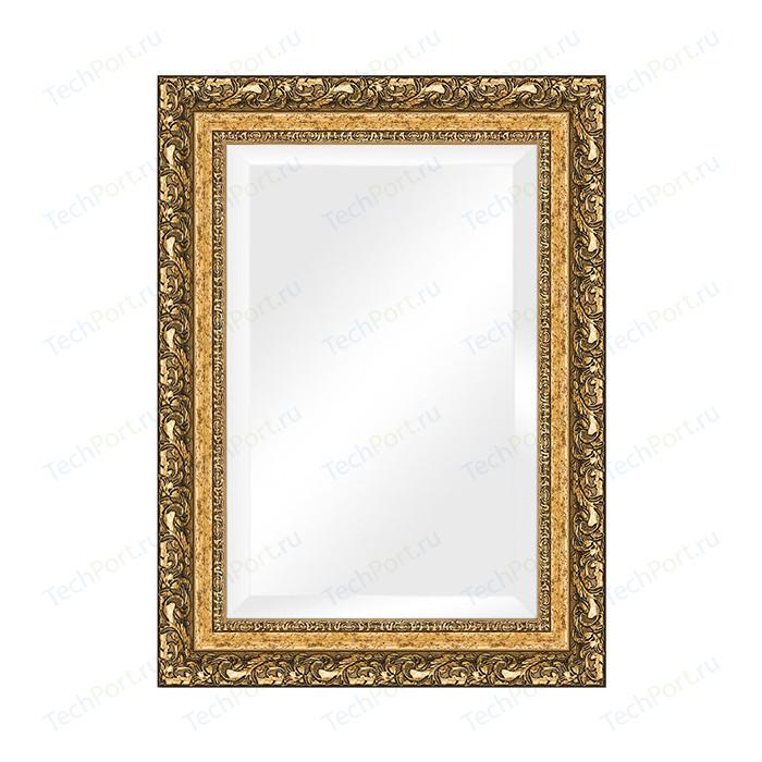 Зеркало с фацетом в багетной раме поворотное Evoform Exclusive 55x75 см, виньетка бронзовая 85 мм (BY 1230)