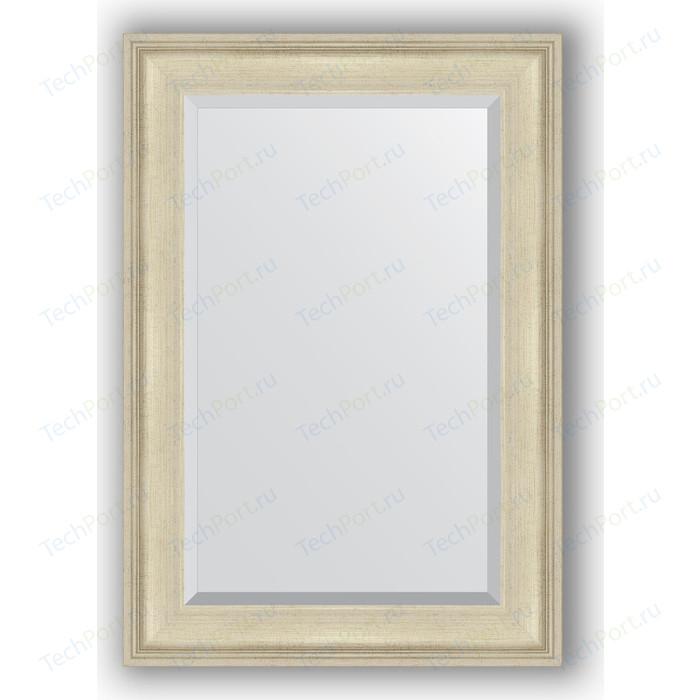 Зеркало с фацетом в багетной раме поворотное Evoform Exclusive 68x98 см, травленое серебро 95 мм (BY 1276)