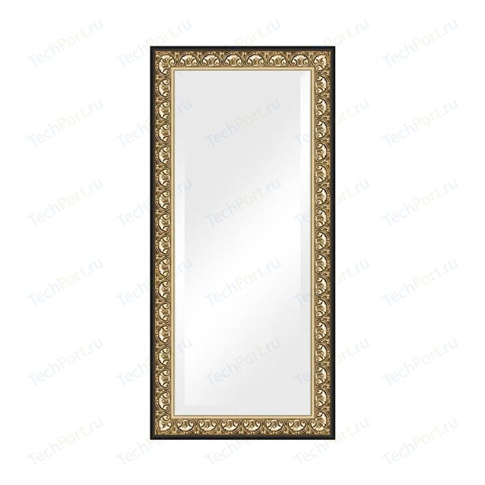 Зеркало с фацетом в багетной раме поворотное Evoform Exclusive 80x170 см, барокко золото 106 мм (BY 1311)