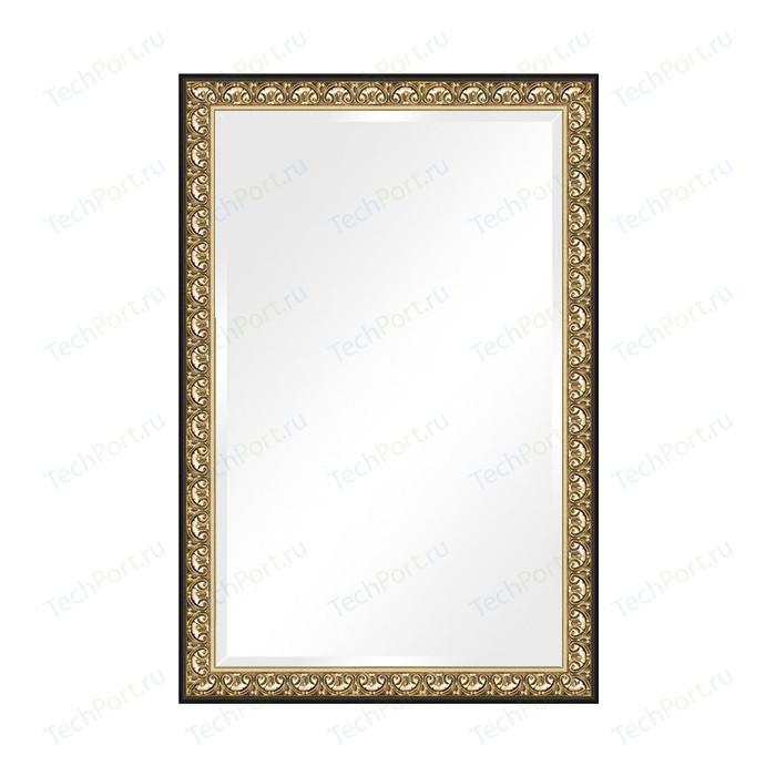 Зеркало с фацетом в багетной раме поворотное Evoform Exclusive 120x180 см, барокко золото 106 мм (BY 1321)