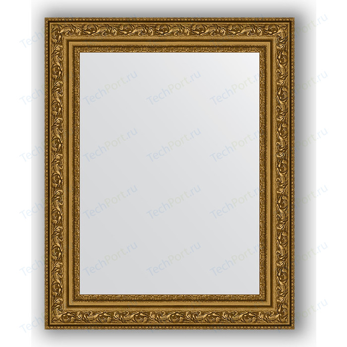 Зеркало в багетной раме Evoform Definite 40x50 см, виньетка состаренное золото 56 мм (BY 3007)