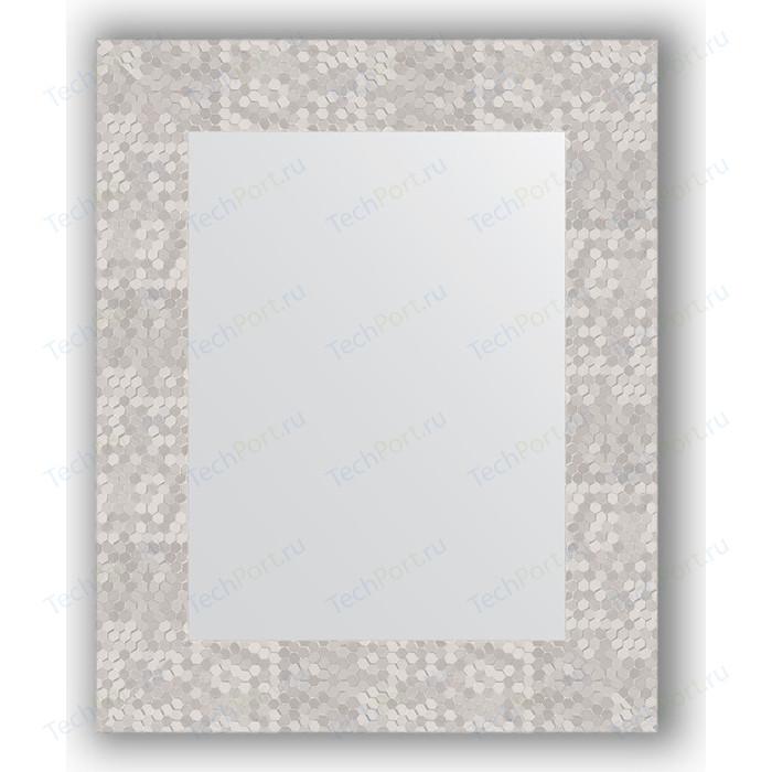 Зеркало в багетной раме Evoform Definite 43x53 см, соты алюминий 70 мм (BY 3019)