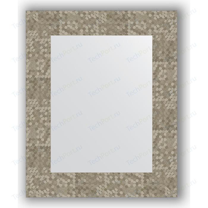 Зеркало в багетной раме Evoform Definite 43x53 см, соты титан 70 мм (BY 3020)