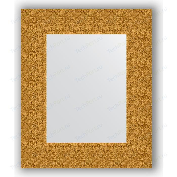 Зеркало в багетной раме Evoform Definite 46x56 см, чеканка золотая 90 мм (BY 3022)