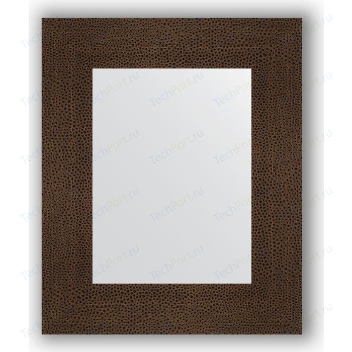 Фото - Зеркало в багетной раме Evoform Definite 46x56 см, бронзовая лава 90 мм (BY 3024) зеркало evoform definite floor 201х81 бронзовая лава
