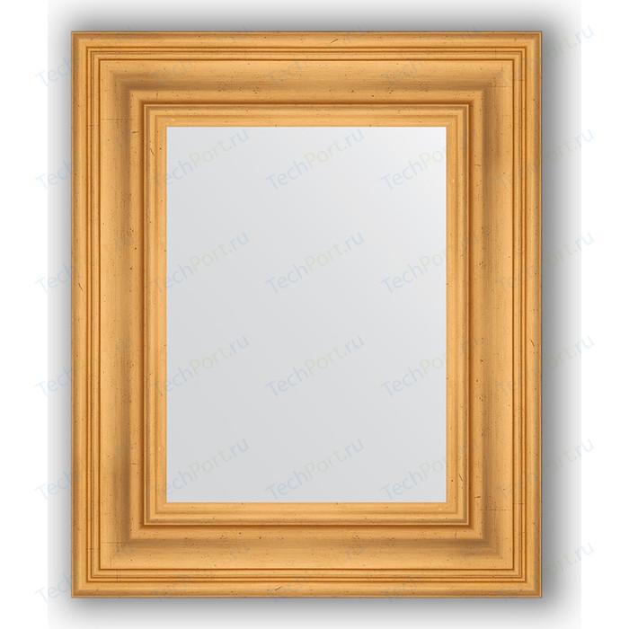 Зеркало в багетной раме Evoform Definite 49x59 см, травленое золото 99 мм (BY 3027)