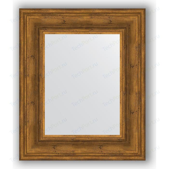 Зеркало в багетной раме Evoform Definite 49x59 см, травленая бронза 99 мм (BY 3029)