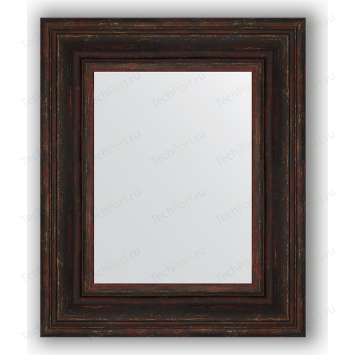 Зеркало в багетной раме Evoform Definite 49x59 см, темный прованс 99 мм (BY 3030)