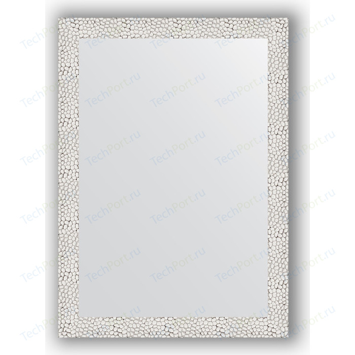 Зеркало в багетной раме поворотное Evoform Definite 51x71 см, чеканка белая 46 мм (BY 3034)