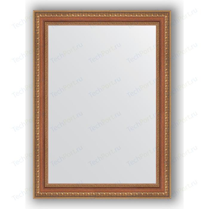 Зеркало в багетной раме поворотное Evoform Definite 55x75 см, бронзовые бусы на дереве 60 мм (BY 3043) зеркало в багетной раме поворотное evoform definite 73x93 см слоновая кость 51 мм by 1040