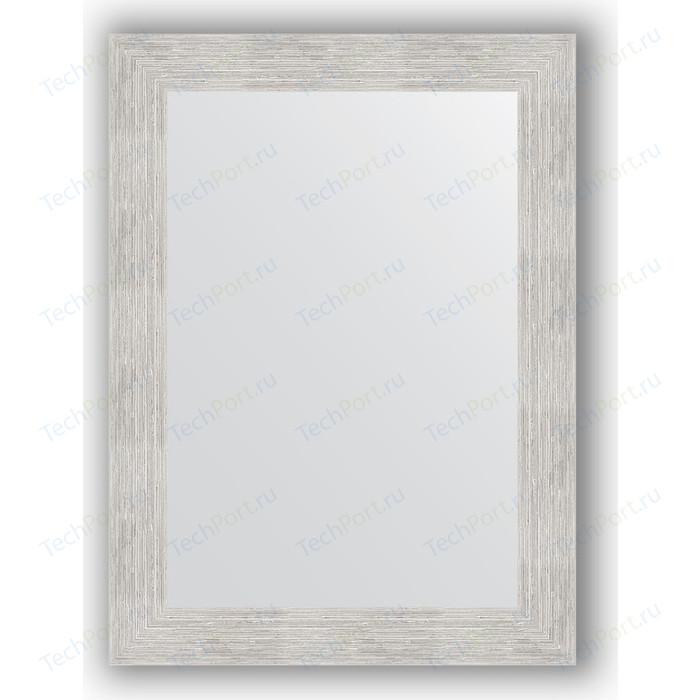 Фото - Зеркало в багетной раме поворотное Evoform Definite 56x76 см, серебряный дождь 70 мм (BY 3048) зеркало в багетной раме поворотное evoform definite 56x76 см соты медь 70 мм by 3050