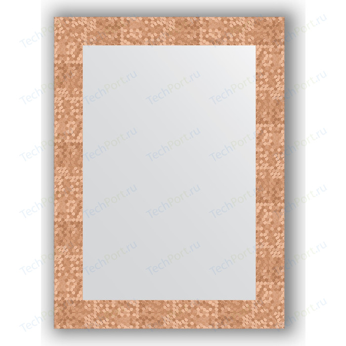 Фото - Зеркало в багетной раме поворотное Evoform Definite 56x76 см, соты медь 70 мм (BY 3050) зеркало в багетной раме поворотное evoform definite 56x76 см соты медь 70 мм by 3050