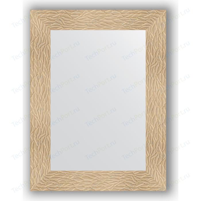 Зеркало в багетной раме поворотное Evoform Definite 60x80 см, золотые дюны 90 мм (BY 3053)