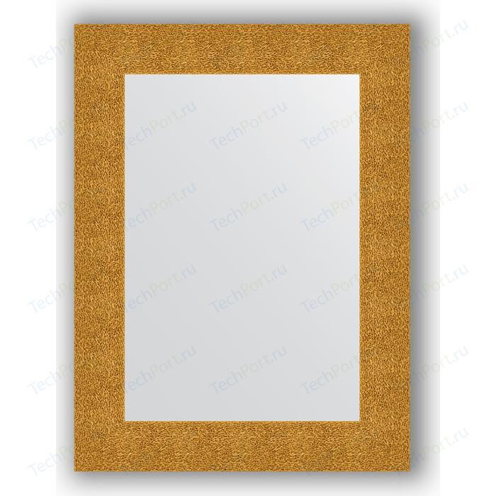 Зеркало в багетной раме поворотное Evoform Definite 60x80 см, чеканка золотая 90 мм (BY 3054)