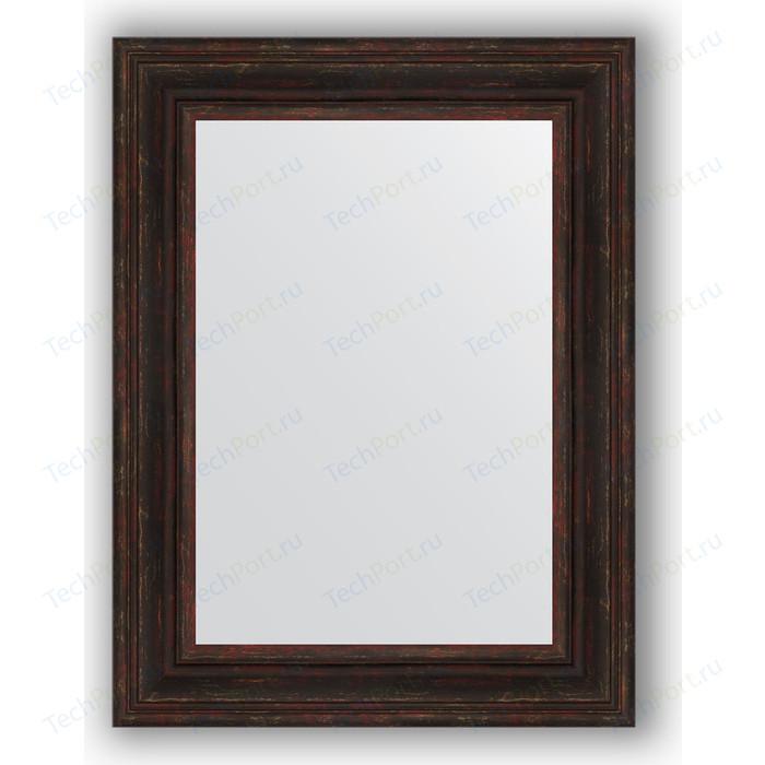 Зеркало в багетной раме поворотное Evoform Definite 62x82 см, темный прованс 99 мм (BY 3062)