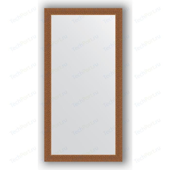 Зеркало в багетной раме поворотное Evoform Definite 51x101 см, мозаика медь 46 мм (BY 3067)