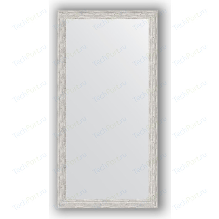 Фото - Зеркало в багетной раме поворотное Evoform Definite 51x101 см, серебрянный дождь 46 мм (BY 3069) зеркало в багетной раме поворотное evoform definite 51x101 см волна алюминий 46 мм by 3070