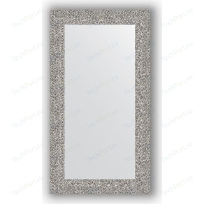Зеркало в багетной раме поворотное Evoform Definite 60x110 см, чеканка серебряная 90 мм (BY 3087)