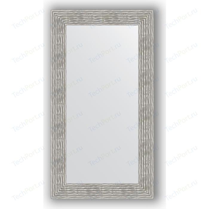 Зеркало в багетной раме поворотное Evoform Definite 60x110 см, волна хром 90 мм (BY 3089)