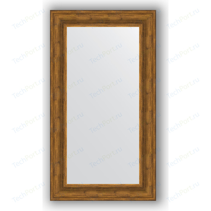 Зеркало в багетной раме поворотное Evoform Definite 62x112 см, травленая бронза 99 мм (BY 3093)