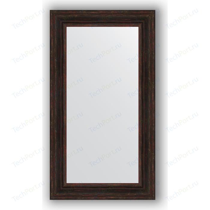 Зеркало в багетной раме поворотное Evoform Definite 62x112 см, темный прованс 99 мм (BY 3094)