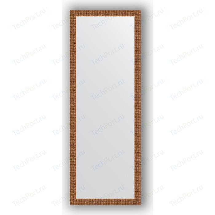 Зеркало в багетной раме поворотное Evoform Definite 51x141 см, мозаика медь 46 мм (BY 3099) зеркало в багетной раме поворотное evoform definite 51x141 см волна алюминий 46 мм by 3102