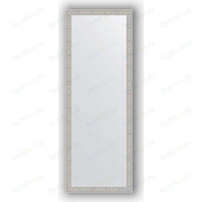Зеркало в багетной раме поворотное Evoform Definite 51x141 см, волна алюминий 46 мм (BY 3102) зеркало в багетной раме поворотное evoform definite 51x141 см волна алюминий 46 мм by 3102
