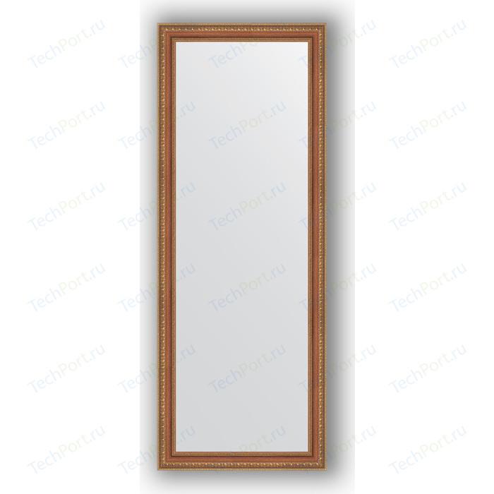 Зеркало в багетной раме поворотное Evoform Definite 55x145 см, бронзовые бусы на дереве 60 мм (BY 3107) зеркало в багетной раме поворотное evoform definite 73x93 см слоновая кость 51 мм by 1040