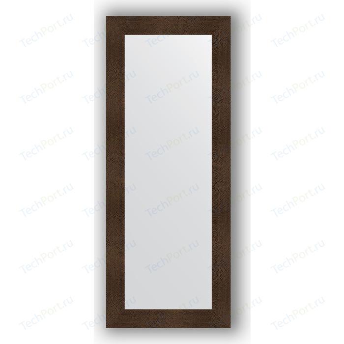 Фото - Зеркало в багетной раме поворотное Evoform Definite 60x150 см, бронзовая лава 90 мм (BY 3120) зеркало evoform definite floor 201х81 бронзовая лава