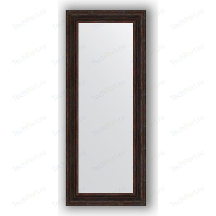 Зеркало в багетной раме поворотное Evoform Definite 62x152 см, темный прованс 99 мм (BY 3126)