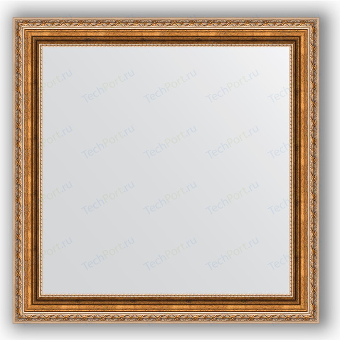 Зеркало в багетной раме Evoform Definite 65x65 см, версаль бронза 64 мм (BY 3143)